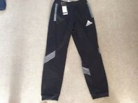 Adidas black/grey joggers age 11-12 BNWT (bought for £30)