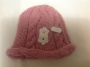 Knitted kids hats
