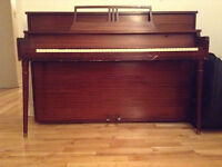 Piano droit - Upright piano (Handel Patented)
