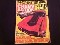 CHEVY ACTION CAR MAGAZINE ( 1974 VINTAGE )