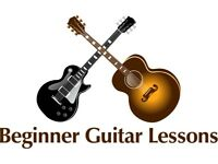 Guitar lessons for beginners - all ages welcome