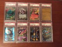 PSA Graded Pokemon Cards