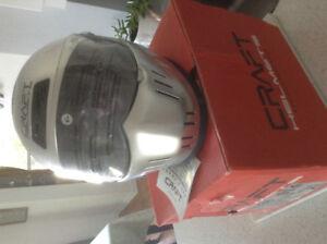 Motor bike helmet. By Craft helmets