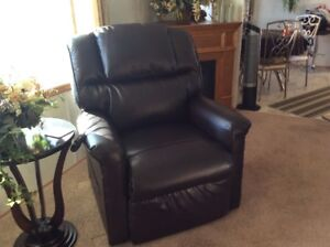 Leather Recliner for sale - 1 year old (new condition)