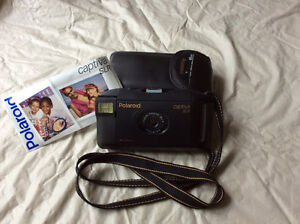 Vintage Polaroid Captiva SLR Camera with Case