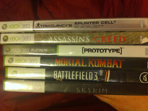 URGENT! 6 Xbox 360 games for sale!