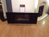 Studio 1 Slimline Balanced Flue Gas Fire Ex Display With Glass Frame