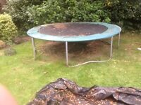 Free 10ft trampoline