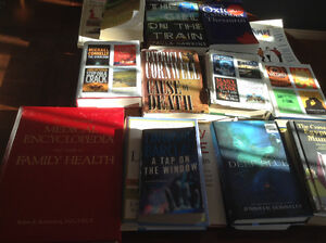 All kinds of books 25 total