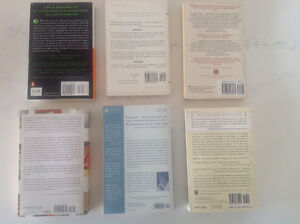 Various New York Times Bestsellers - FIC - back covers pictured Peterborough Peterborough Area image 2
