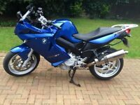 New lower price: BMW F800ST with BMW touring luggage & 6 month MOT remaining