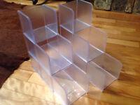 2 Cubes de Rangement pour Scrapbooking Bureau ou autre