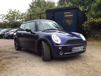 MINI Hatch 1.6 Cooper 3dr 12 MONTH MOT 3 MONTH ENGINE AND GEARBOX WARRANTY