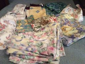 Large bundle of fabric in oddments
