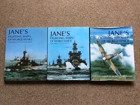 Janes ships and aircraft of WW1 and WW2 books military