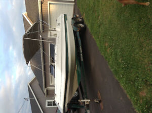 1998 armada deck boat for sale