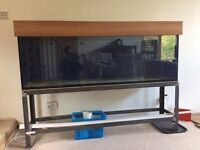 Tropical aquarium with stand 6ft / 72inches / 1883mm wide