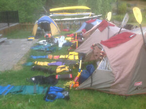 Kayaks & Camping Complete Tours Equipment