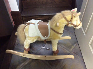 Cheval bascule rocking horse