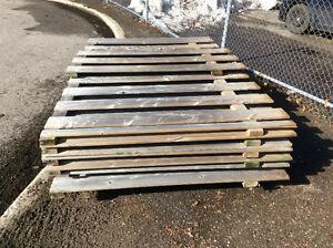 Wood Pressure-Treated Panel fence