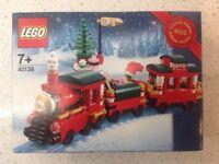 New Sealed Genuine 2015 Limited Edition LEGO Christmas Train Set 40138