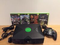 XBox Original Console And Games