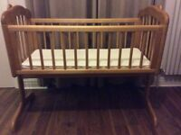 Swinging Crib - Mothercare