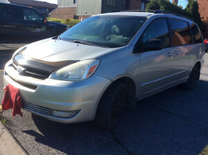 Amazing Deal! 2004 Toyota Sienna with 8 tires winter and summer