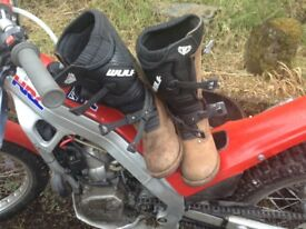 Wulfsport trials boots