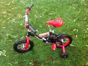 Vélo pour garçon débutant