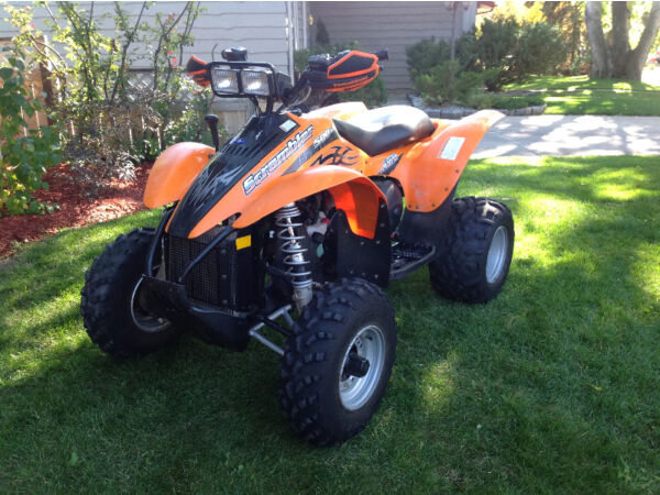 Used 2006 Polaris Scrambler 500 H.O.