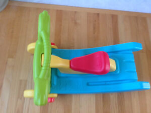Who doesn't want a slide in house?2in1 Fisher Price Slide/Rocker