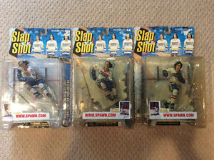 Slapshot Hanson Brothers McFarlane Set (in packages)
