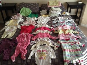Baby girl and unisex clothing 0-3 months