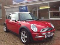 2002 02 Mini Cooper 1.6i RED , 6 MONTHS WARRANTY INCLUDED,