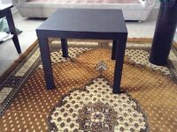 A pair of unique end tables or night stand