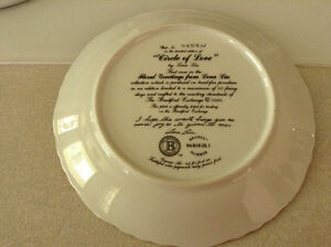 "Collector Plate ""Circle of Love"" Bradford Exchange Belleville Belleville Area image 2"