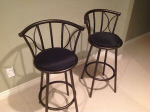 Two bar stools, $100 OBO