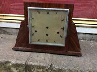 Vintage Wooden Mantle Clocks Repair, Restoration