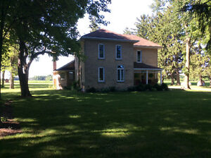 Century home + 93 acres London Ontario image 1