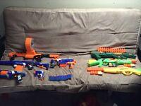 Lot de gun NERF et BUZZBEETOYS