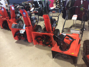 ARIENS SNOW BLOWER CLEARANCE SALE-STARTING AS LOW AS $530.