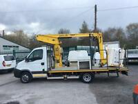 2009 09 IVECO-FORD DAILY 3.0 50C15 CHEERY PICKER LOW MILES EX COUNCIL DIESEL