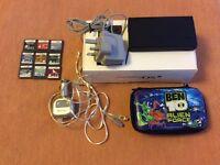 Nintendo DSI with Games, Travel Adaptor and Ben 10 DSI Case