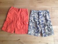2 x John Lewis shorts age 5