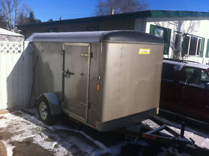 6 by 10' enclosed trailer
