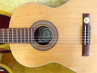 Dutch ( C F Martin) nylon string Alpha A-100 acoustic guitar