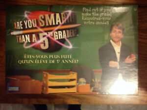 Are You Smarter than a Fifth Grader Board Game (Brand New)