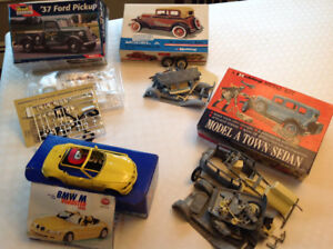 NEW PRICE: 4 Car/Truck Models