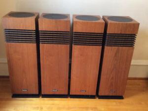 4 Panasonic Speakers